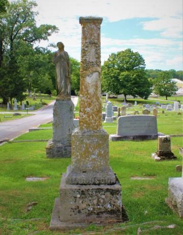 Monument of Mattie P. Harrison