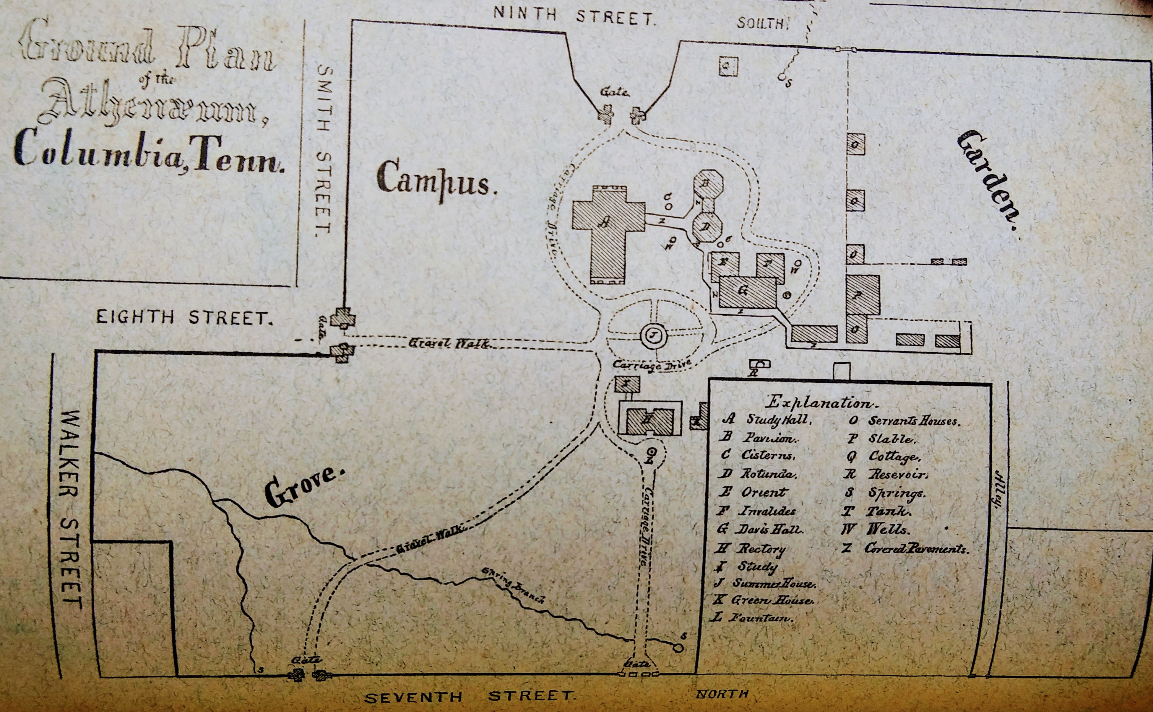 athenaeum map